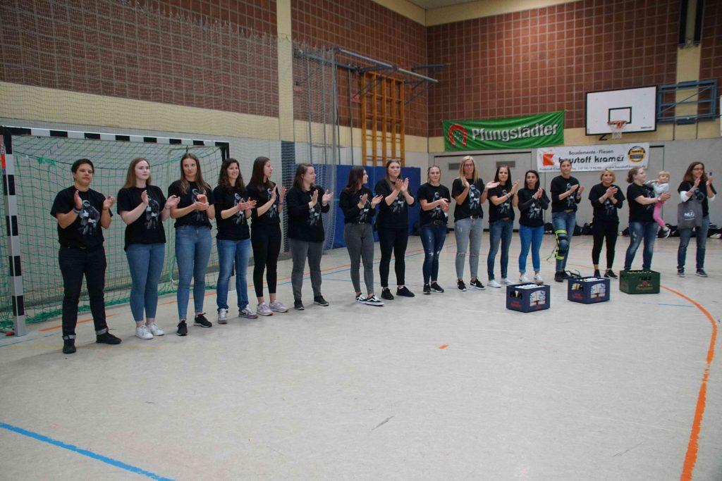 Bild von Ehrung: Aufstieg der ersten Damenmannschaft in die Landesliga