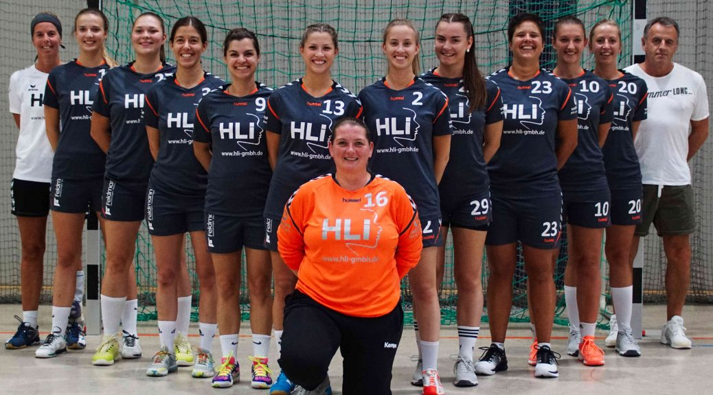 Mannschaftsbild 1. Damen, Saison 2018/2019