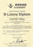 B-Lizenz Carolin May